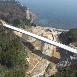 石川県七尾市 黒崎高架橋