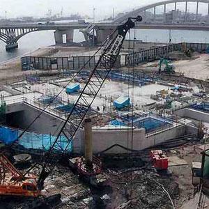 千田ポンプ場建設工事
