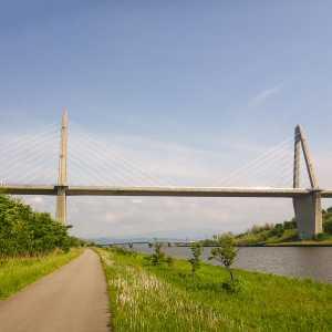 石川県内灘町 内灘大橋